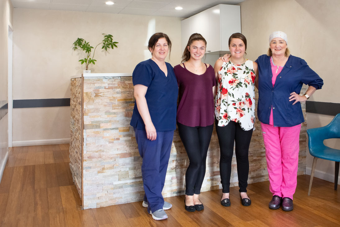 The team at Sparkle Dental.