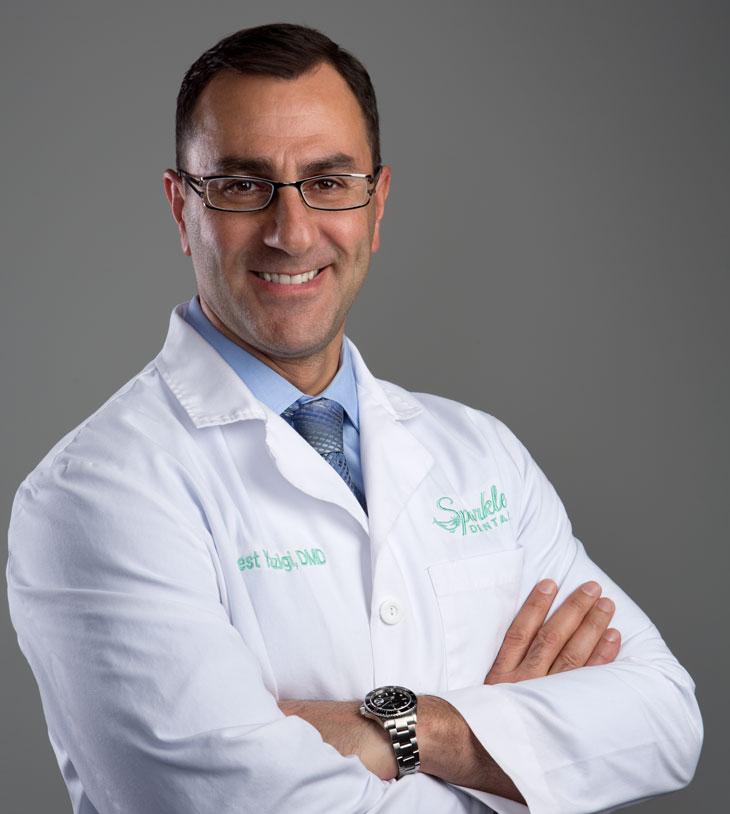 Ernest Yazigi, DMD at Sparkle Dental.